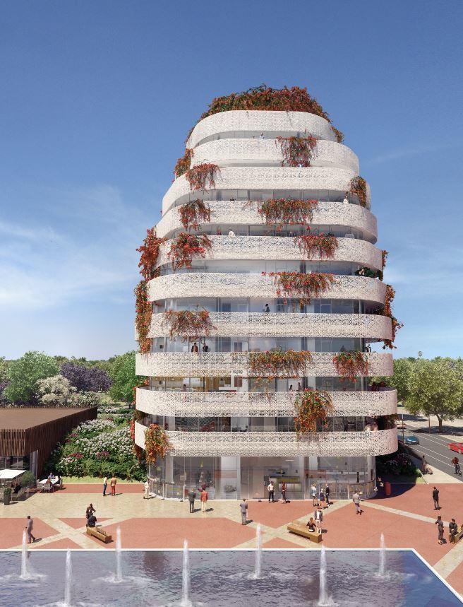 """La Tour """"Jasmin"""", une nouvelle Tour Végétale dédiée aux bureaux à Casablanca"""